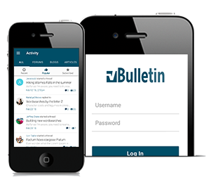 vBulletin Mobile Suite - For Use with iPhone, iPad, Android